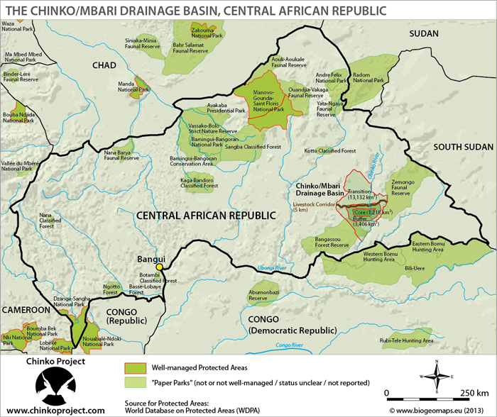 Chinko Project Map